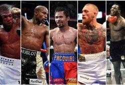 Top 30: brangiausi smūgiai bokso istorijoje