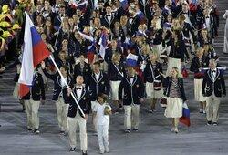 Rusijos problemos nesibaigia: gresia pašalinimas iš Tokijo olimpiados