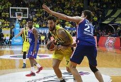 """""""Žalgiris"""" stiprinasi Eurolygos ir NBA patirties turinčiu aukštaūgiu"""