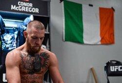 C.McGregoro bokso kova su M.Pacquiao jau šių metų gruodį? Airis po jos planuoja sugrįžti į UFC