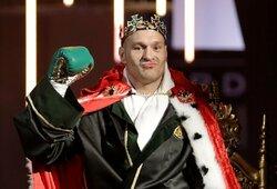 Kova dėl sunkiasvorių bokso pasaulio čempiono diržo: D.Wilderis – T.Fury (1 raundas, GYVAI)