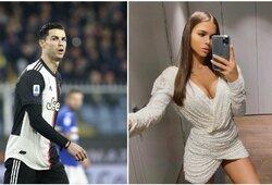 Su Neymaru ir L.Hamiltonu bendraujanti Rusijos gražuolė paaiškino, kodėl atstūmė C.Ronaldo