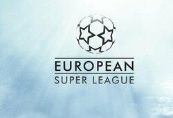 """""""Manchester City"""" oficialiai traukiasi iš """"Superlygos"""", po 12 klubų susitikimo """"Barcelona"""" ir """"Atletico"""" vis dar liko projekte"""