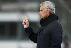 J.Mourinho prabilo apie savo karjeros pabaigą