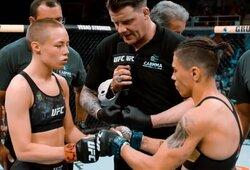 R.Namajunas pakilo į UFC reitingo viršūnę, C.McGregoras prarado dar dvi pozicijas