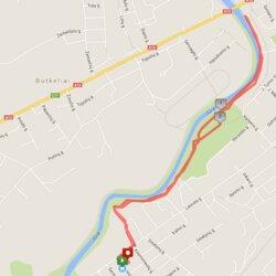 4,9 km trasa Tauragėje