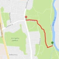 Trinapolio kalniuko trasa Vilniuje