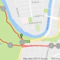 Trasa nouo Vingio parko iki Šv. Kotynos bažnyčios