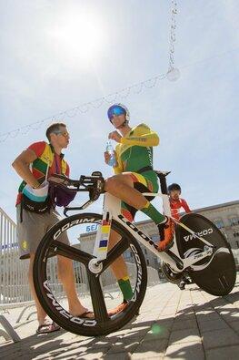 Europos žaidynių plento dviračių atskiro starto lenktynės