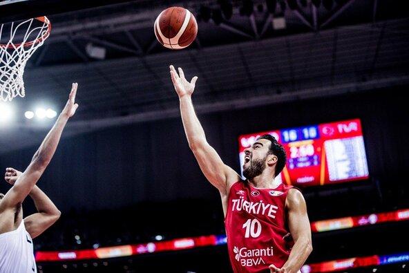 JAV –Turkija rungtynių akimirka