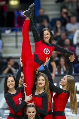 """""""Ryto"""" šokėjos rungtynėse su CSP"""