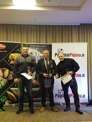 IFBB Lietuvos kultūrizmo ir kūno rengybos federacijos apdovanojimų ceremonija