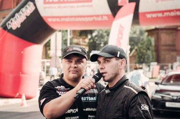 Panevėžio miesto gimtadienyje lenktynininkas R.Šeinauskas užfiksavo Lietuvos rekordą