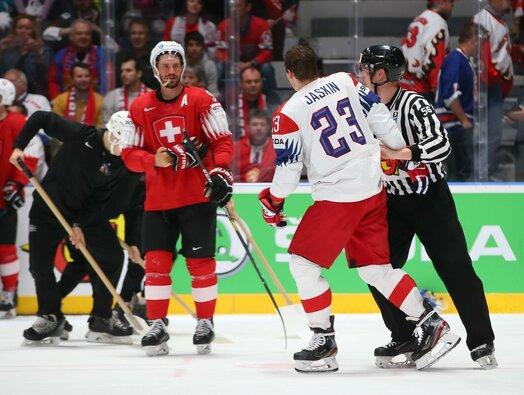 Čekija – Šveicarija rungtynių akimirka