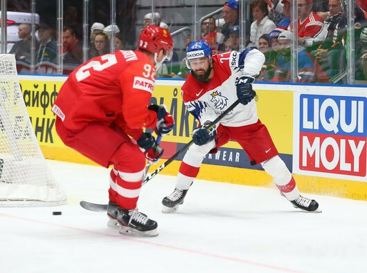 Rusų ir čekų rungtynės