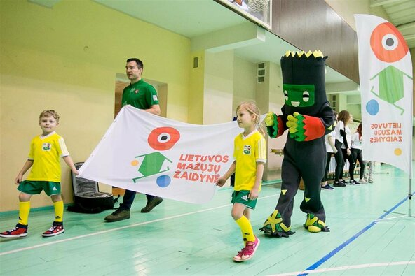 Boksininkas Tadas Tamašauskas sportavo su penkiamečiais