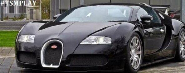 """""""Bugatti Veyron"""" - 1,5 mln. eurų."""