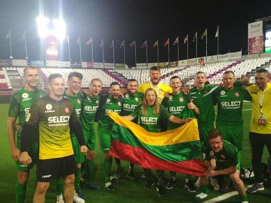 Lietuvos mažojo futbolo rinktinė pasaulio čempionate