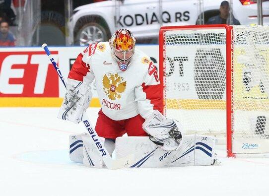 Rusija – Latvija rungtynių akimirka