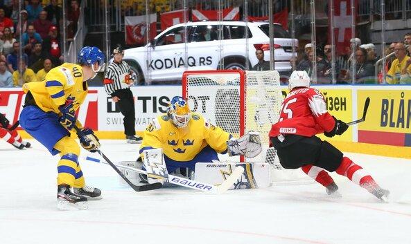 Švedų ir šveicarų rungtynės