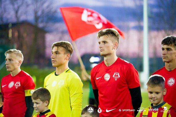 """""""FK Vilniaus"""" ir """"Kupiškio"""" rungtynės"""