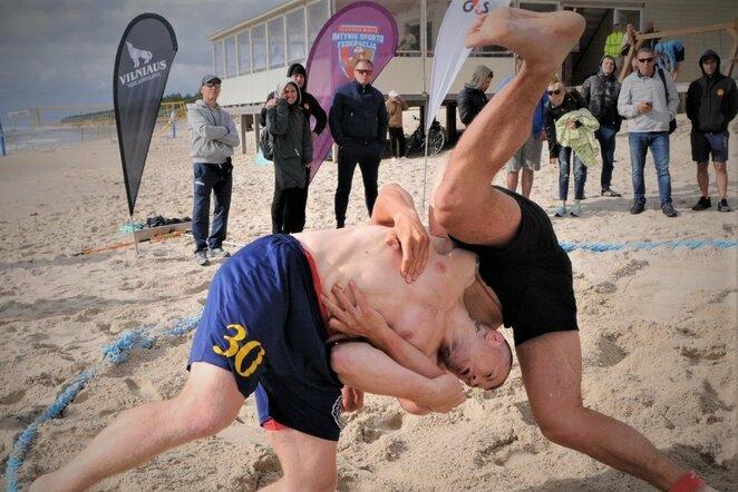 Atviras Lietuvos paplūdimio imtynių čempionatas | imtynes.lt nuotr.