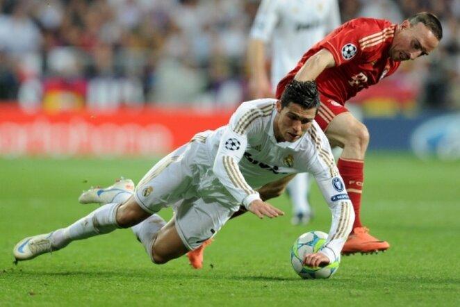 C.Ronaldo ir F.Ribery | AP nuotr.