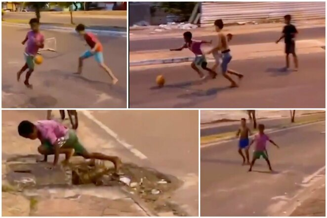 Futbolas Brazilijos gatvėse | Scanpix nuotr.