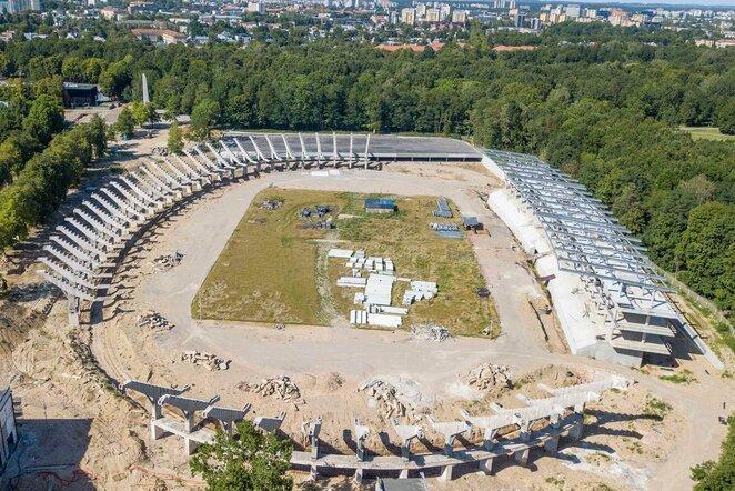 S.Dariaus ir S.Girėno stadionas   Organizatorių nuotr.