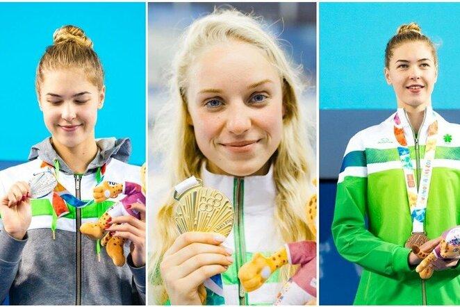 Lietuvos medalininkės Buenos Airėse | Kipro Štreimikio nuotr.