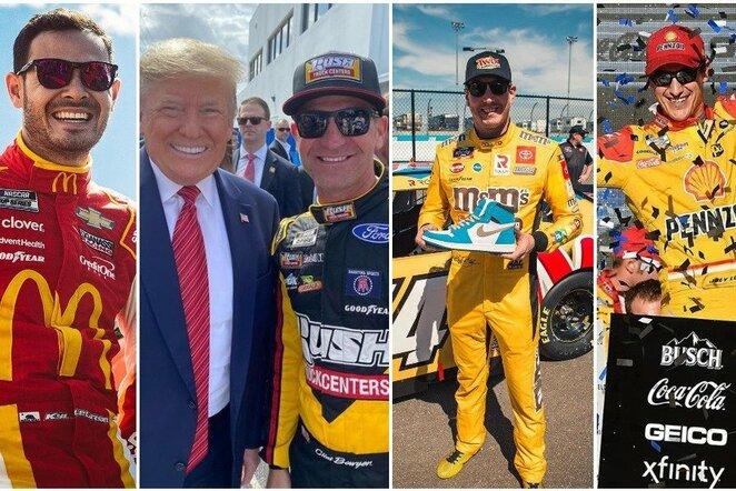 Top 10: daugiausiai uždirbantys NASCAR lenktynininkai   Instagram.com nuotr