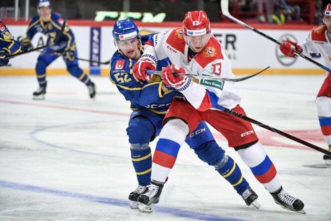 Švedų ir rusų rungtynės | Scanpix nuotr.