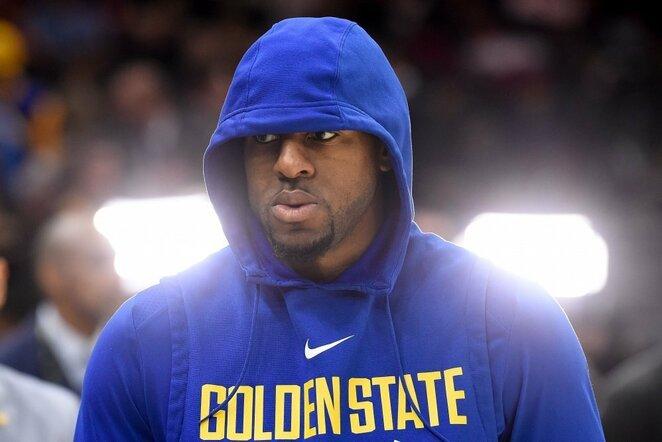 "Andre Iguodala – iš ""76ers"" į ""Nuggets"". Kur jis dabar? ""Golden State Warriors"", 2018-2019 m. sezone 5,7 tšk., 3,7 atk. kam., 3,2 rez. perd.   Scanpix nuotr."