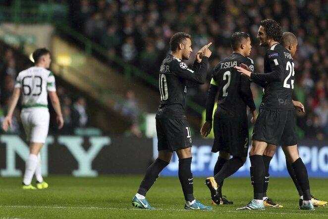 """Celtic"" - PSG rungtynių akimirka | Scanpix nuotr."