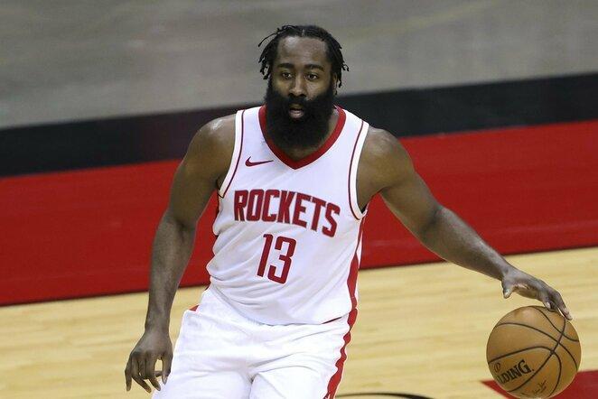 "5. Jamesas Hardenas (Hiustono ""Rockets"") – 40,82 mln. | ""Scanpix"" ir instagram.com nuotr."