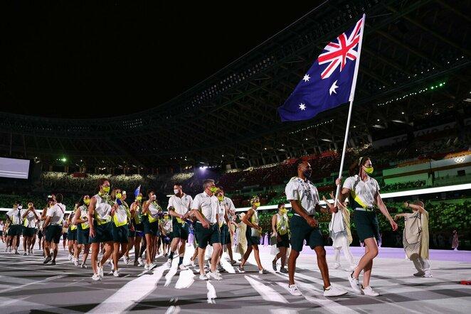 Australijos delegacija   Scanpix nuotr.