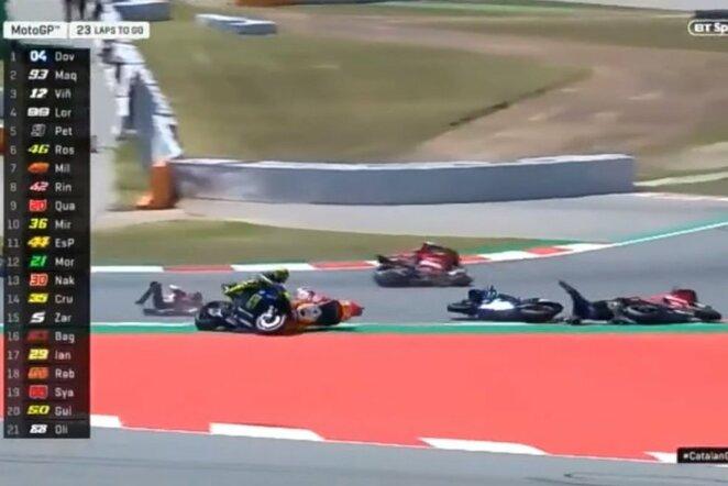 Katalonijos GP lenktynės   Youtube.com nuotr.