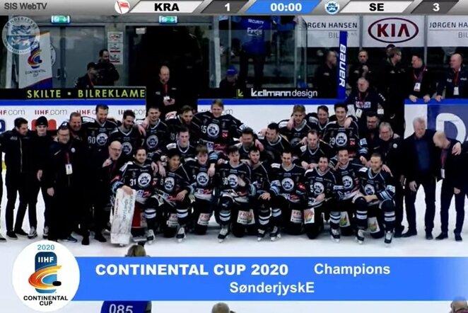 """""""Sonderjyske Ishockey""""   Youtube.com nuotr."""