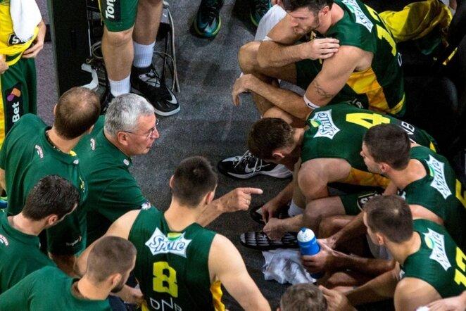 Lietuvos krepšinio rinktinė | SIPA/Scanpix nuotr.