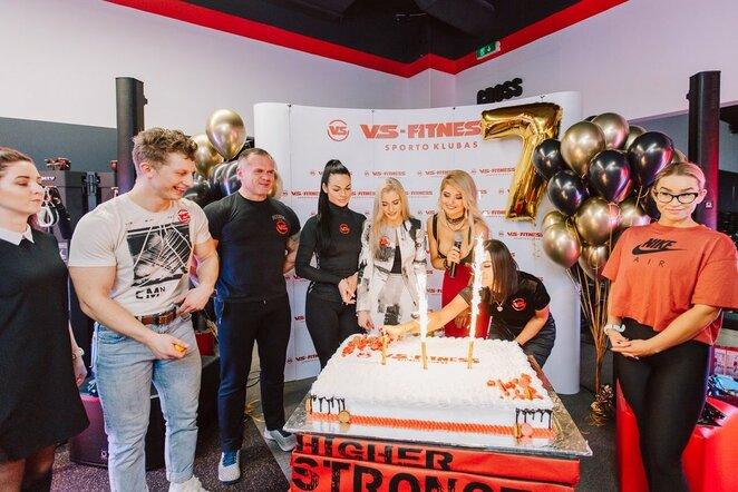 Sporto klubas ,,VS-Fitness'' Vilniuje šventė 7-ąjį gimtadienį l Elenos Grimalienės nuotr.