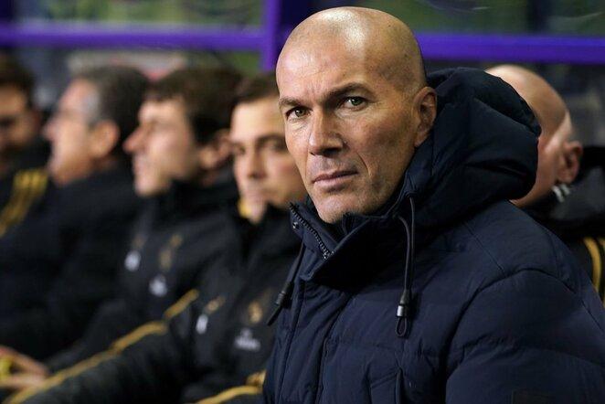 Zinedine'as Zidane'as   Scanpix nuotr.