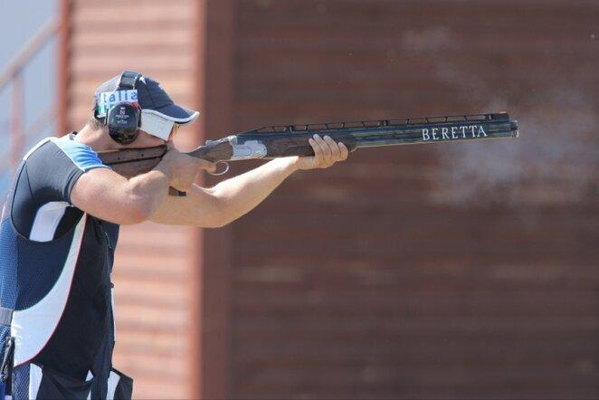 Šaudymas į skrendančius taikinius | RIA Novosti/Scanpix nuotr.