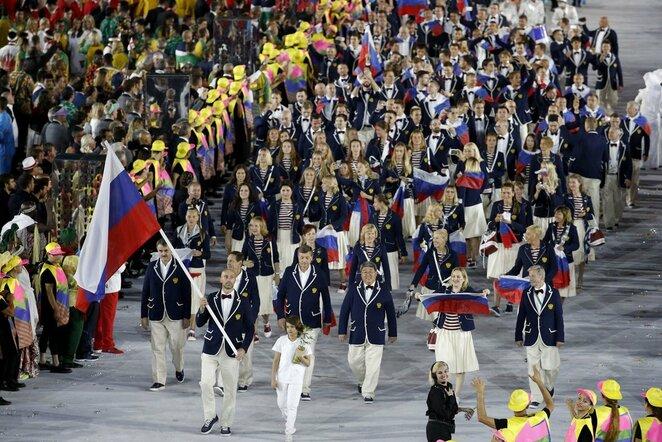 Rusijos olimpinė rinktinė | Scanpix nuotr.