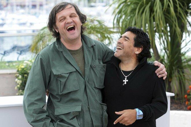 Emiras Kusturica ir Diego Maradona | Scanpix nuotr.