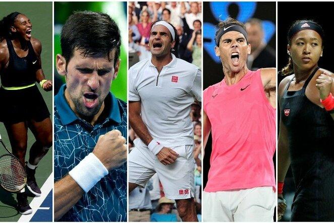 Daugiausiai uždirbantys pasaulio tenisininkai | Scanpix nuotr.