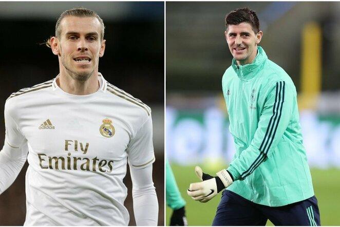 Garethas Bale'as ir Thibautas Courtoisas | Scanpix nuotr.