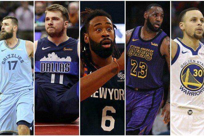Vertingiausių NBA komandų reitingas   Scanpix nuotr.