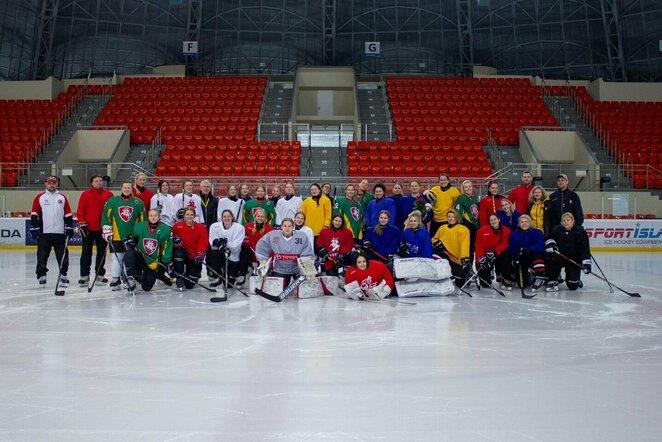 Moterų ledo ritulio rinktinė pradėjo pasiruošimą olimpiniam atrankos turnyrui | hockey.lt nuotr.