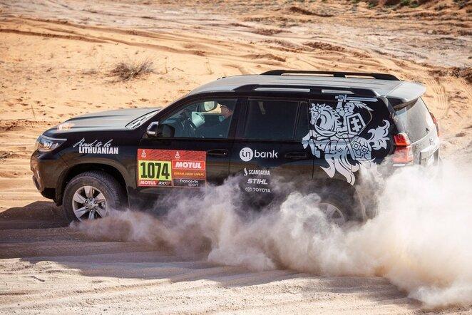 Media komanda Dakaro ralyje | Pitlane/Ryčio Šeškaičio nuotr.
