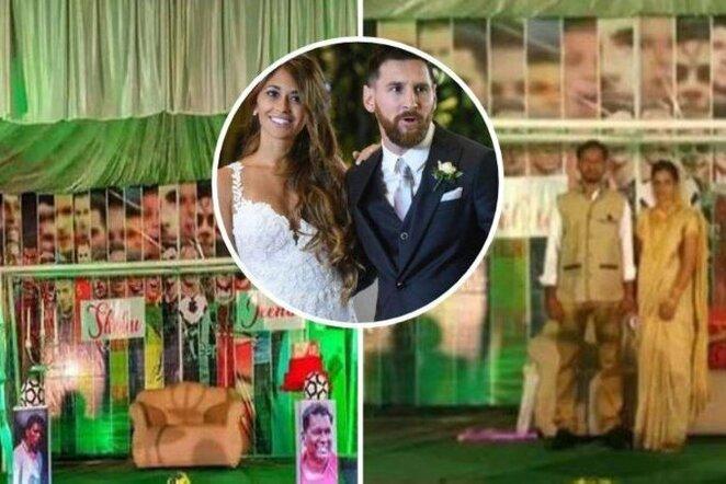 L.Messi teminės vestuvės | Organizatorių nuotr.